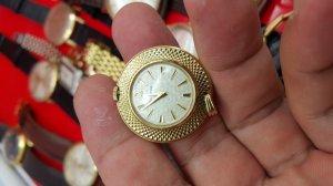 Đồng hồ mặt dây chuyền Bulova xưa chính hãng