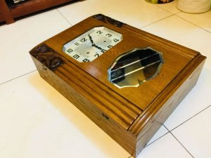 Đồng hồ pháp thùng bè đẹp như mới