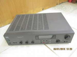 AMPLI NAD 705 STEREO RECEIVER