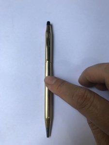 Bút Bic Hiệu CROSS 1/20 KT GOLD FILLED - Zin Đồ Xưa - Hàng xách Tay Từ Mỹ