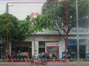 Cho thuê 468-470 Kinh Dương Vương, đang làm ngân hàng Techcombank