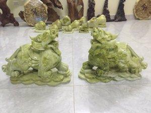 Cặp Tỳ hưu đá tự nhiên nặng 45kg