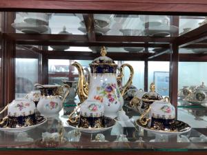 Bộ ấm trà nhập khẩu cộng hòa Cezch.