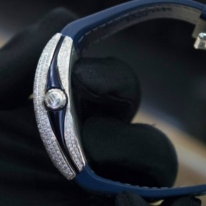 Frank muller navy full diamond