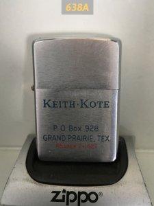 Z.638A-Chữ xéo 1963 KEITH -KOTE