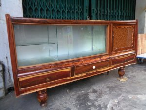 Tủ búp phê gỗ cẩm lai gõ