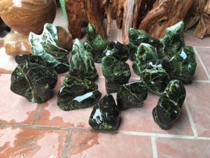 Lô cây đá xanh tự nhiên chất...