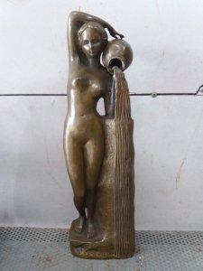 Tượng cô gái nude bằng đồng đẹp...