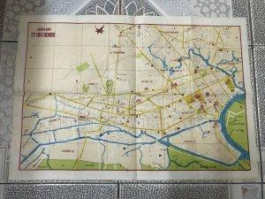 bản đồ TPHCM 1985