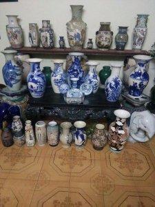 Gl cac loại bình hoa trang trí nội thất xua cũ các loại