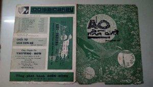 Bìa nhạc xưa trước 1975