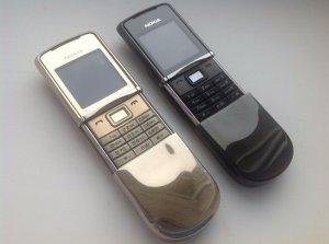 Nokia 8800 Sirocco thay vỏ