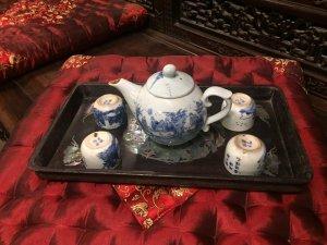 Khay trà khảm ốc Phú Qúy Bạc Đầu