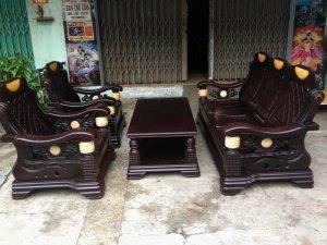 Bộ ghế gỗ xoan Đài loan