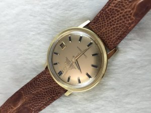 Omega Constellation 250 Chronmeter Automatic solid 18k gold Case &Dial18k Blackstone Cal564