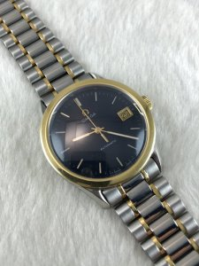 "Omega ""Maison Fondee En 1848"" Automatic demi 14k gold & Bracelet demi Cal1108"