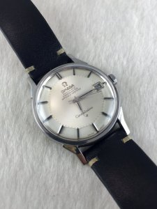 """Omega Constellation Pie Pan Chronometer Automatic """"dog leg lugs"""" stainless steel Cal564"""