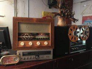 Radio bóng đèn Bush