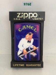 *967E-zippo sơn 1997 Chủ đề : CAMEL ( emblem)