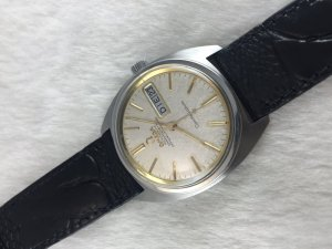 Omega Constellation 4300 Day-Date Chronometer Automatic stainless steel Cal564 dial's 2 tone