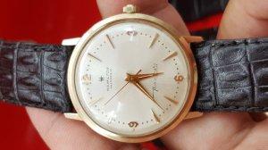Đồng hồ Hamilton Masterpeice vỏ bọc vàng xưa chính hãng