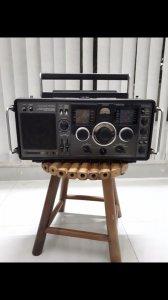 Radio cỗ hiệu Sanyo