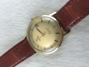 Omega Seamaster Deville Automatic solid 18k gold Cal562 dial's Yellow 2 tone