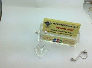 Hoa tai kim cương thiên nhiên  H10208