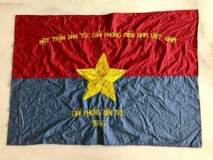 Cờ giải phóng Bến Tre năm 1966