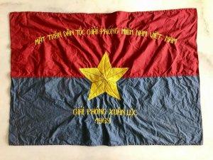 Cờ giải phóng Xuân Lộc năm 1969