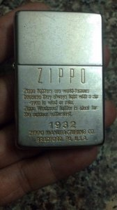 Zippo replica 1937 k chặc góc