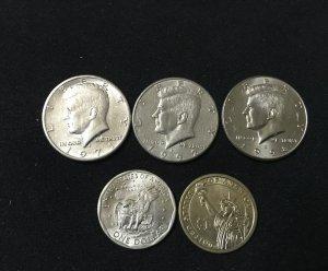 5 xu Mỹ