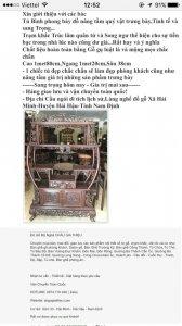 tủ bình phong trúc nho quân tử