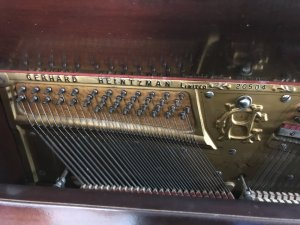Đàn piano năm 1900