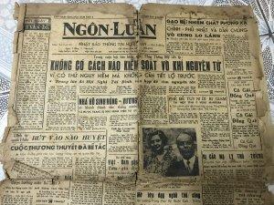 2 tờ báo Ngôn luận 1957-59
