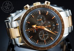 Omega Speedmaster Broad Arrow - Demi (Steel-Red gold) - 108 triệu đồng