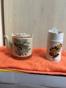 Ống đủa xưa và binh trà