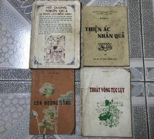 4 cuốn sách Phật Giáo