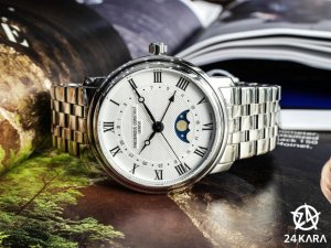 Đồng hồ Frederique Constant FC-330MC4P6B Classics Moonphase Model 2016