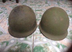 Mũ Sắt US Kỷ Vật Chiến Tranh Trước Giải Phóng, zalo: 01226218163 - Tiệm Hoàng Thiên ĐN