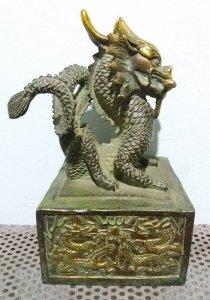 Ấn rồng bằng đồng đẹp và tinh xảo