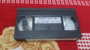 Băng Video VHS Tiếng hát Ngọc Lan 2 (Mây Production phát hành năm 1991)