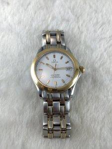 Omega Seamaster Professional 120 Chronometer Automatic demi 14k & Bracelet Cal1120