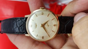 Đồng hồ Longines auto 2 kim rưỡi xưa chính hãng