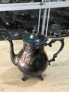 Bình Lắc Kê Bạc (MS 38) - Đồ Xưa - Hàng Xách tay Từ Mỹ