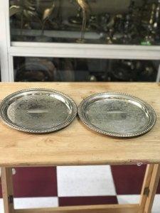 Bộ 2 Dĩa tròn Hiệu ROCERS 870 - Lắc Kê Bạc- Hàng Xách tay Từ Mỹ