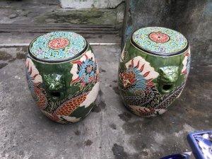 Đôn Trống Tích Song Long Cao 46cm  zalo: 01226218163 Hoàng Thiên