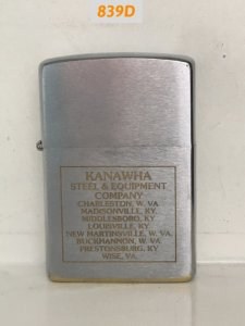 839D-brush Chrome 1983- KANAWHA