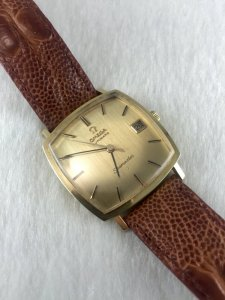 Omega Seamaster Automatic solid 18k gold Case & Dial 18k Cal565