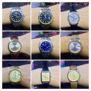 Đồng hồ nam secondhand Thụy Sỹ Nhật Bản giá rẻ